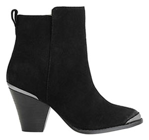 Ella Moss Fall Basic Suede Black Boots