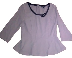 Express Top Cream/Black