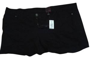 Torrid Cut Off Shorts Black