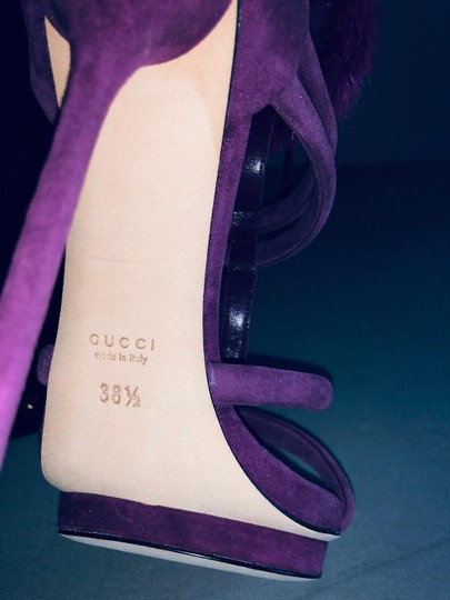 Gucci Pumps With Box Purple Sandals Image 7