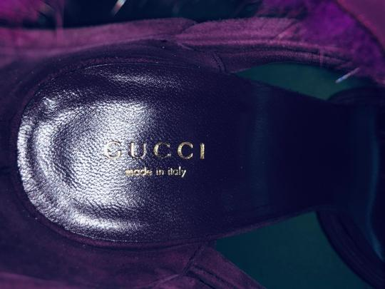 Gucci Pumps With Box Purple Sandals Image 9