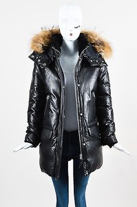 Mackage Leather Down Coat