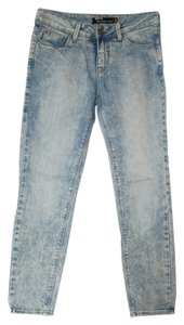 BDG Urban Outfitters Ankle Grazer Skinny Jeans-Light Wash