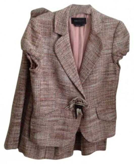 Preload https://item2.tradesy.com/images/bcbgmaxazria-tweed-jacketpleated-skirt-suit-size-4-s-135711-0-0.jpg?width=400&height=650