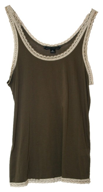 Banana Republic Camisole Lace Trim Size Small Top Olive