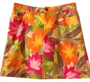 Croft & Barrow Mini Skirt Floral