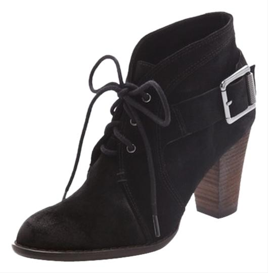 Luxury Rebel Fall Ankle Suede Black Boots