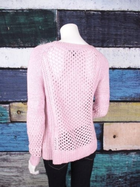 American Eagle Outfitters Open Knit Cotton Sweater Image 1