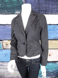 Ann Taylor Ann Taylor Loft Black Denim Jean Jacket Blazer Career Work