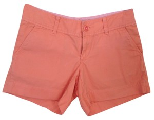 Lilly Pulitzer Spring Mini/Short Shorts Orange