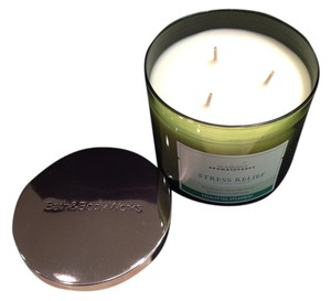Bath and Body Works Stress Relief Eucalyptus Spearmint Aromatherapy Scented Candle by Bath & Body Works - [ Roxanne Anjou Closet ]