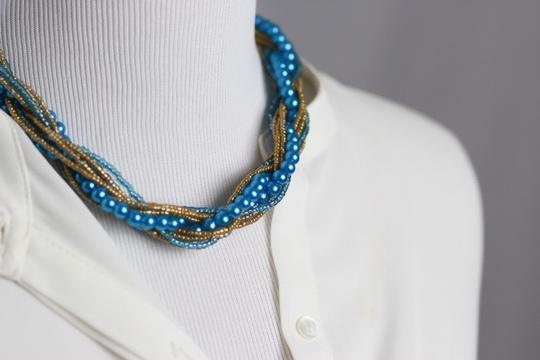 0 Degrees Gorgeous Handmade Twisted Necklace!