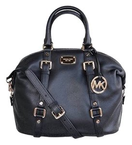 Michael Kors Bedford Satchel in Black