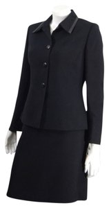 Le Suit NEW 2 pc black skirt jacket suit