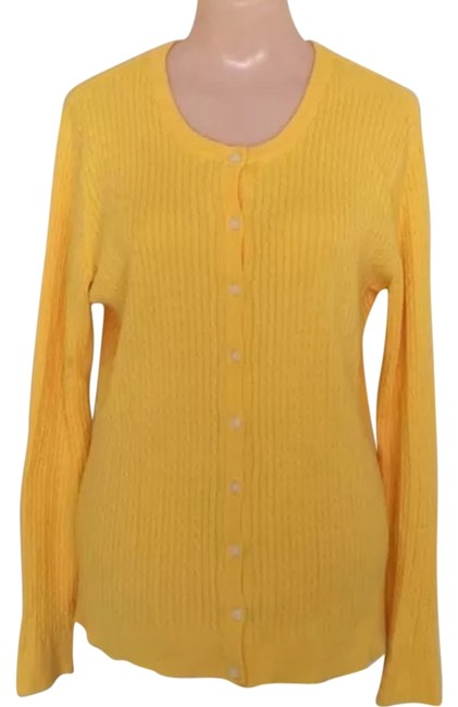 Preload https://img-static.tradesy.com/item/13576933/cable-yellow-sweater-0-1-650-650.jpg