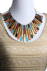 0 Degrees Multi Color Statement Necklace!