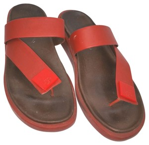 Donald J. Pliner J. 7 RED Sandals