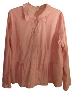 J. Jill Top Pink Cotton