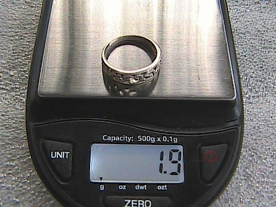 Other Vintage Swirl Band Ring (#108) Image 6