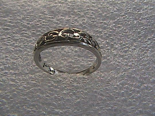 Other Sterling Silver Band Ring (#100) Image 3