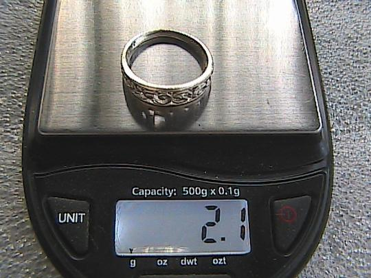 Other Sterling Silver Band Ring (#100) Image 7