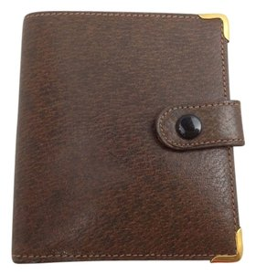 Gucci reduced!! [Authentic] GUCCI Bifold Wallet Purse Brown Leather Vintage