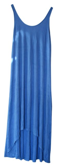 Preload https://item4.tradesy.com/images/h-and-m-blue-jersey-bright-high-low-casual-maxi-dress-size-8-m-1357868-0-0.jpg?width=400&height=650