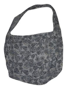 Free People Tote in black /white