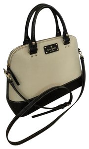 Kate Spade Satchel in cream/black