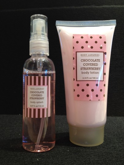 Body Luxuries Chocolate Covered Strawberry Body Splash and Lotion by Body Luxuries - [ Roxanne Anjou Closet ]