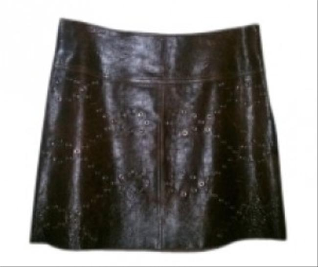 ILLI Mini Skirt BROWN