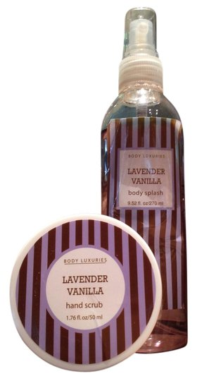 Body Luxuries Lavender Vanilla Hand Scrub & Body Splash by Body Luxuries - [ Roxanne Anjou Closet ]