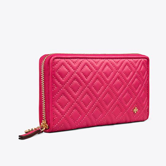 Tory Burch Fleming Zip Continental Wallet Image 1