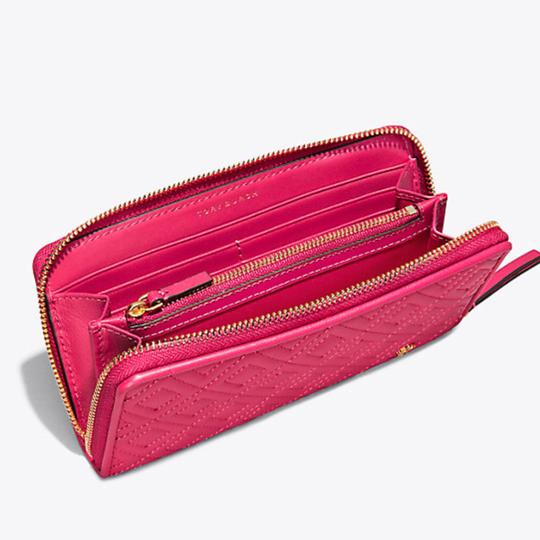 Tory Burch Fleming Zip Continental Wallet Image 3