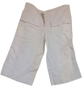 Billy Blues Capris White