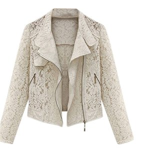 Other Summer Sheer Lace Cardigan White Jacket