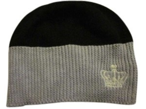 Juicy Couture Juicy Couture Gray/Black Beanie with Crown