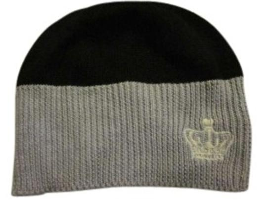 Preload https://item3.tradesy.com/images/juicy-couture-blackgray-grayblack-beanie-with-crown-hat-135817-0-0.jpg?width=440&height=440