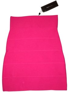 BCBGMAXAZRIA Mini Skirt Hot pink