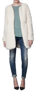 Zara Shaggy Faux Fur Fur Fur Coat