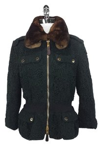Burberry Prorsum Cotton Fur Jacket