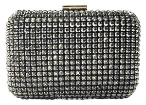 Zara Diamond Black Lining Clutch