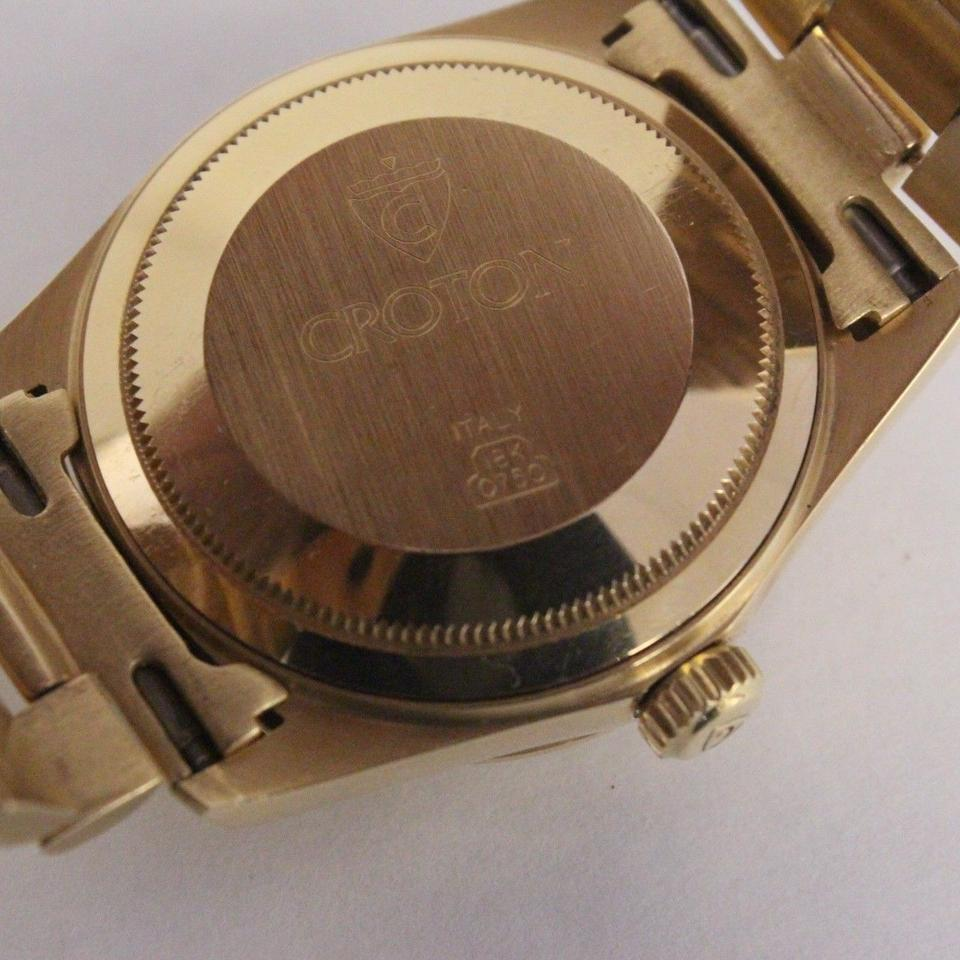 croton 18k gold watch 29  off