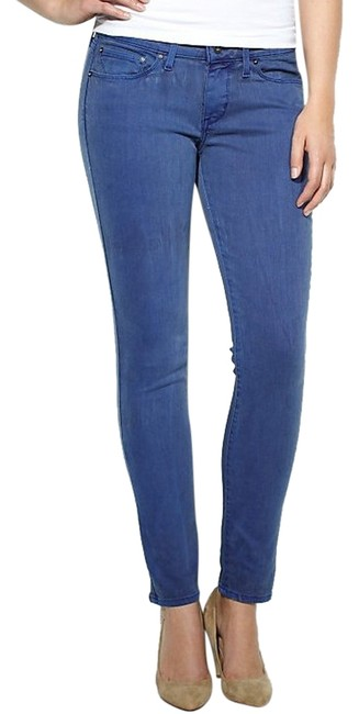Levi's Demi Curve Cropped Denim Skinny Jeans-Medium Wash