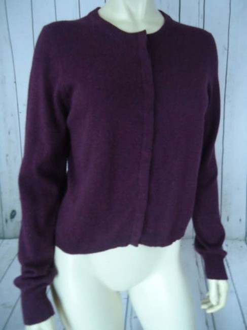 The Limited Snap Front Cotton Angora Blend Cardigan Soft Classy Sweater Image 3
