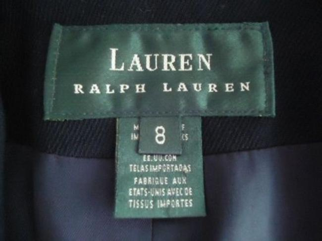 Ralph Lauren Ralph Lauren Blazer Navy Stretch Worsted Wool Double Breasted Lined Chic Image 5