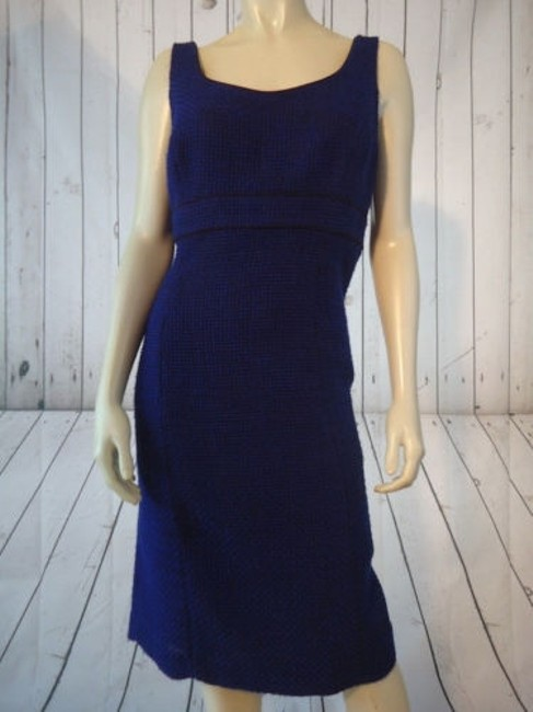 Alex Marie Poly Stretch Sheath Fitted Retro 60s Hot Dress Image 10