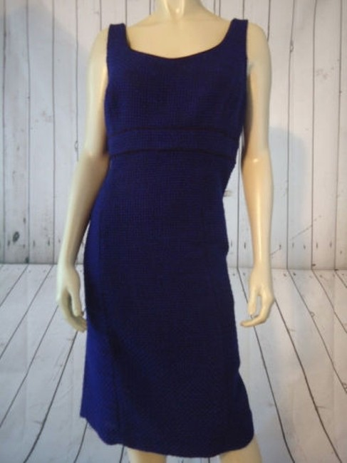 Alex Marie Poly Stretch Sheath Fitted Retro 60s Hot Dress Image 11