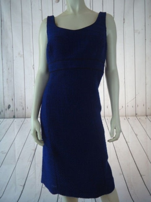 Alex Marie Poly Stretch Sheath Fitted Retro 60s Hot Dress Image 2