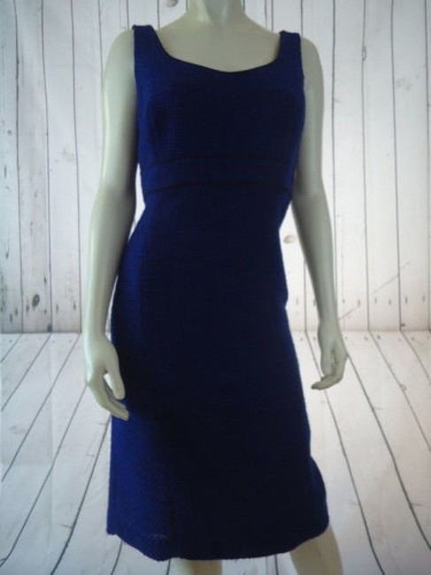 Alex Marie Poly Stretch Sheath Fitted Retro 60s Hot Dress Image 3